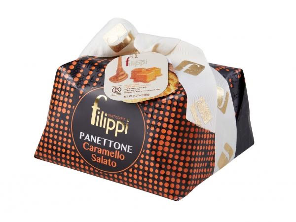 Salted Caramel Panettone